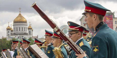 оркестры в парках москвы